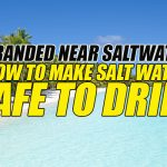 Stranded Near Saltwater: How To Make Salt Water Safe To Drink