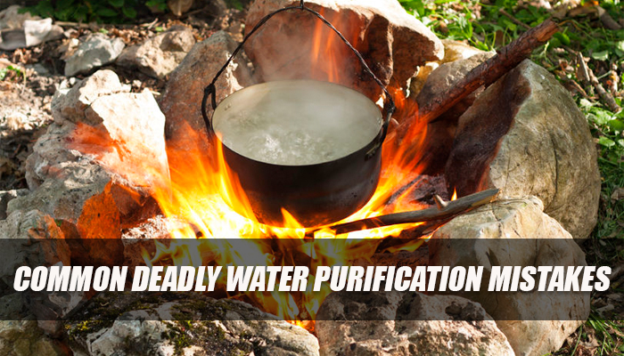 Common Deadly Water Purification Mistakes