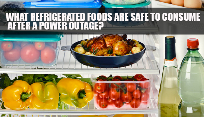 Refrigerated Foods Power Outage
