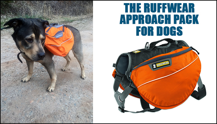 The Ruffwear Approach Pack for Dogs 2ea567bdf56d0