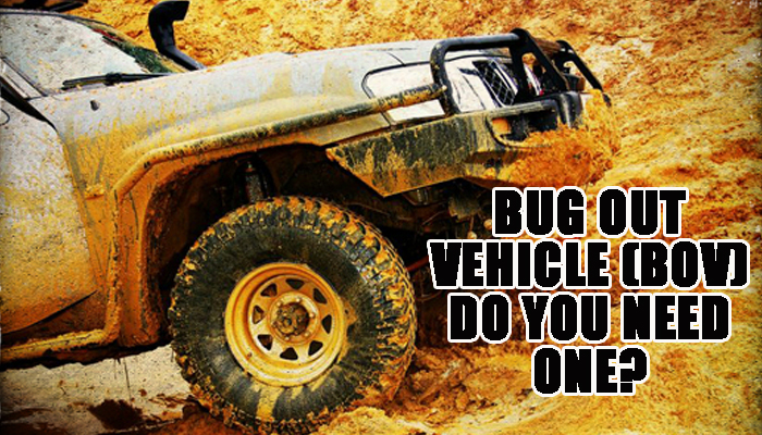Bug out Vehicle BOV