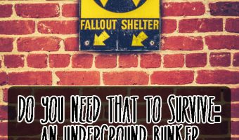 Do You Need That to Survive: An Underground Bunker