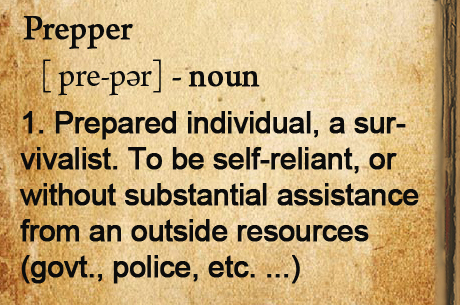 The Prepper Urban Dictionary