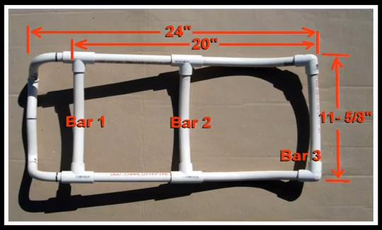 Make a PVC Pipe Alice Pack Frame
