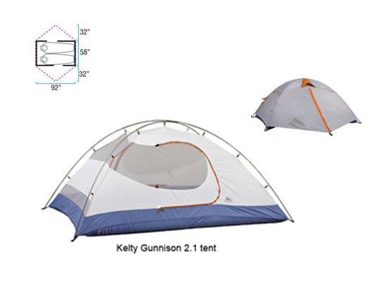 Win a Kelty Gunnison 2.1 Tent and More