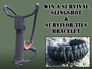 Survival Slingshot Giveaway
