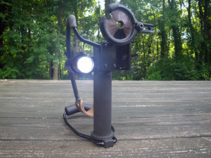 Survival Slingshot with Tactical Light