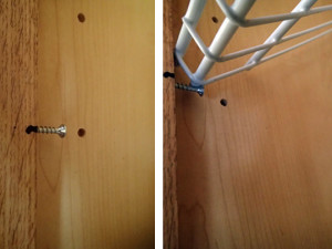 Cabinet Face Screw