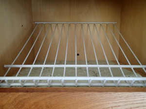 Kitchen Cabinet Rotation Shelf