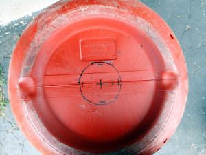 Barrel composter bottom