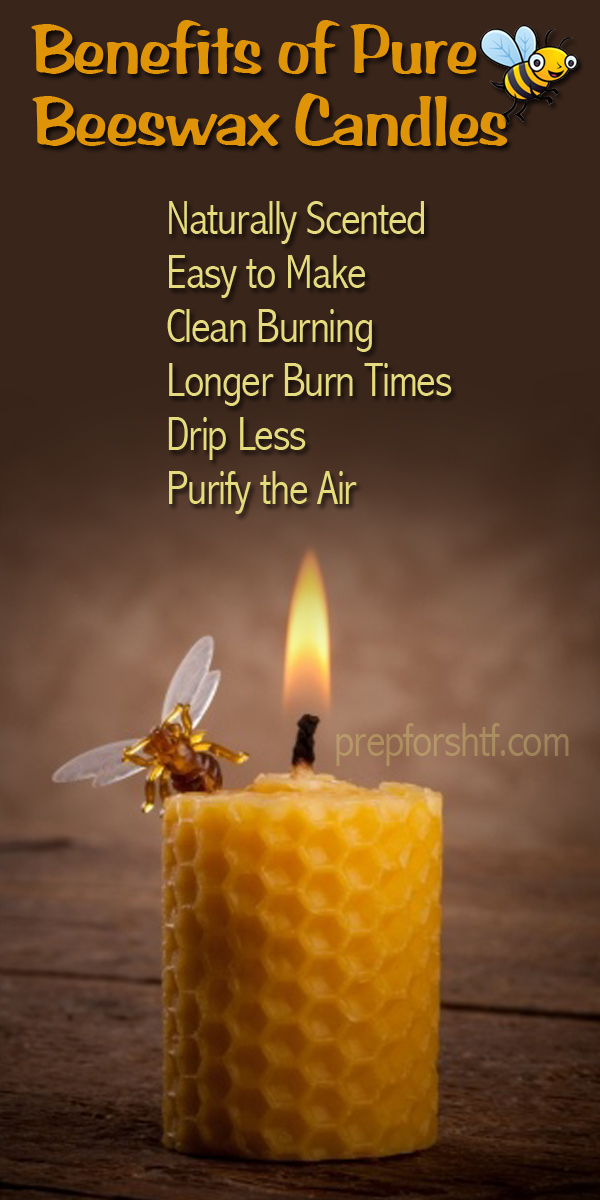 Benefits of Pure Beeswax Candles