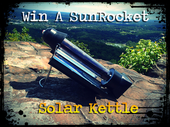 Win a SunRocket Solar Kettle