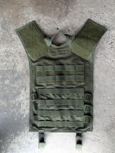 Tactical Vest Back Removed