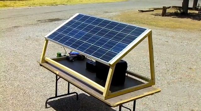 How To Build A Solar Generator Charging Station