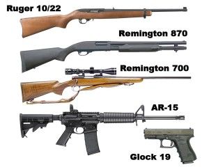 Top 5 Survival Guns