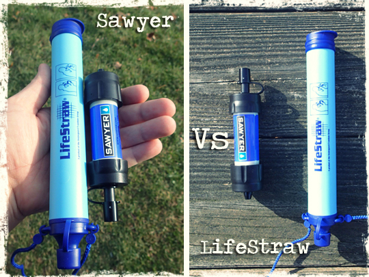 Sawyer Mini Water Filter Vs The Lifestraw