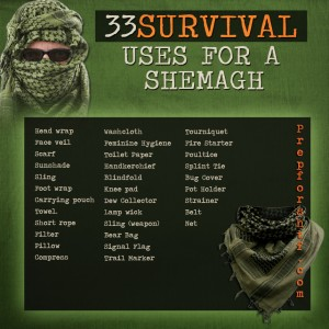 Shemagh Survival Uses