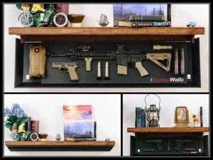 Tactical Walls Rifle Length Shelf