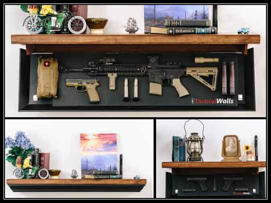 Tactical Walls 1242 Rls Hidden Gun Shelf Preparing For Shtf