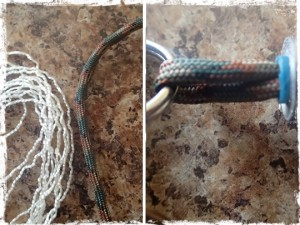 Duct Tape Keychain Paracord