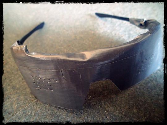 duct tape pinhole glasses