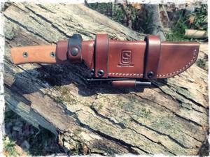 Sagewood Gear Scout Sheath With Firesteel