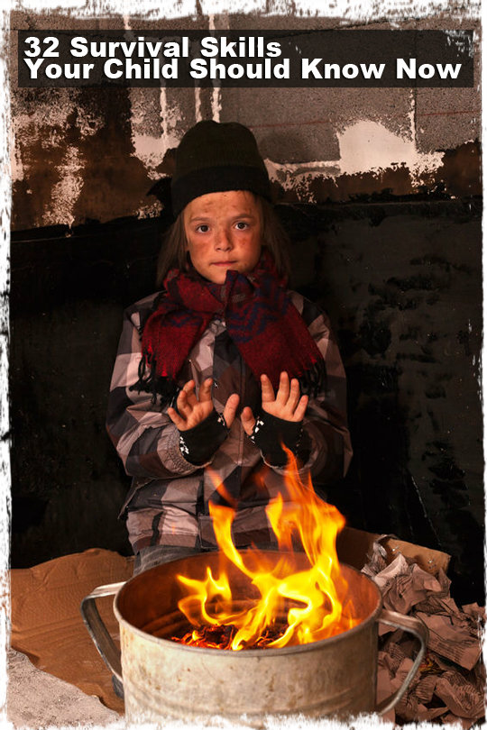 32 Survival Skills Your Child Should Know Now Preparing
