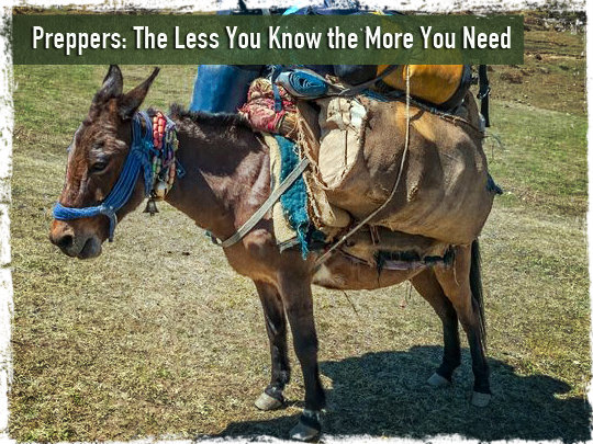 Preppers: The Less You Know the More You Need