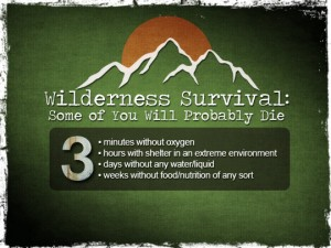 Wilderness Survival Rules of 3
