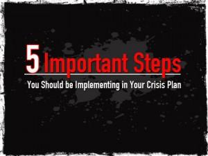 5 Step Crisis Plan