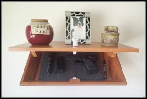 Covert Gun Cabinet Open