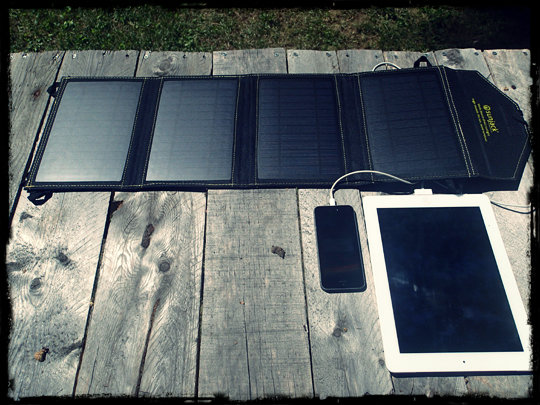 SunJack 14 Watt Portable Solar Charger Review