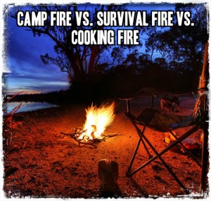 Camp Fire Vs Survival Fire