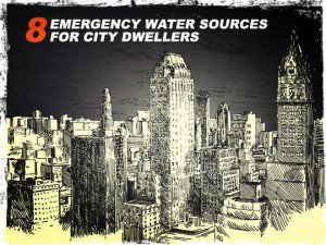 City emergency water sources
