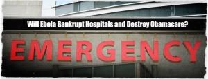 Ebola Bankrupt Hospitals
