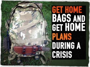 Get Home Bags and Plans