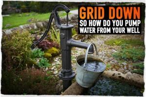 Hand Well Water Pump