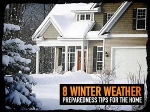 Winter Weather Home Preparedness Tips