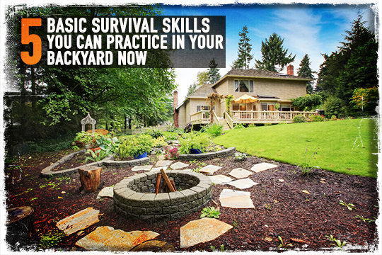 5 Basic Survival Skills You Can Practice In Your Backyard Now