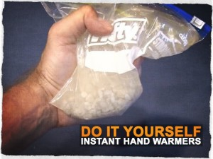 DIY Instant Hand Warmers