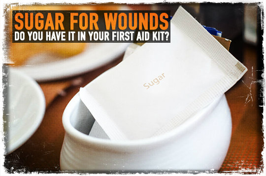 Sugar for Wounds: Do You Have It in Your First Aid Kit?