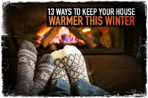 Warm House in Winter