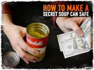 Secret Soup Can Safe
