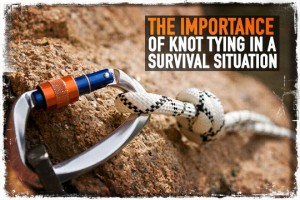 Survival Knot Tying
