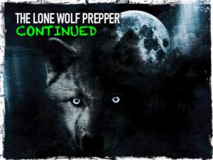 Lone Wolf Prepper Continued