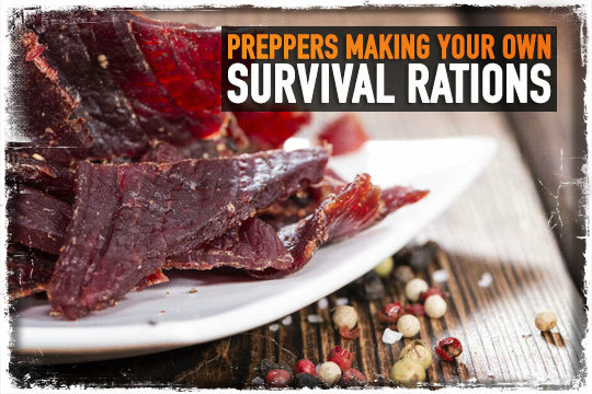 Preppers Making Your Own Survival Rations - Preparing for shtf