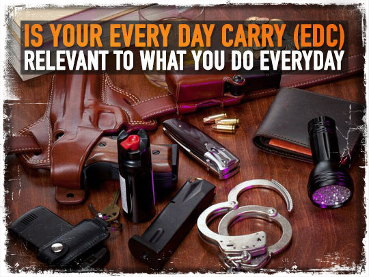 Is Your Every Day Carry (EDC) Relevant To What You Do Everyday