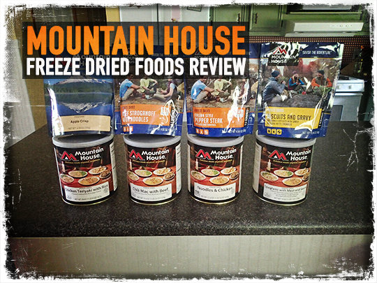 Mountain House Freeze Dried Foods