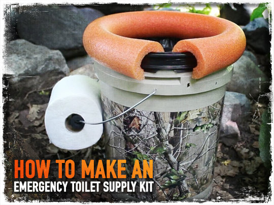How to Make an Emergency Toilet Supply Kit