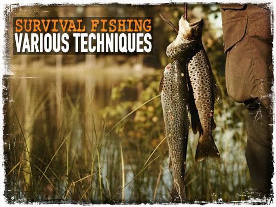 Survival Fishing: Various Techniques